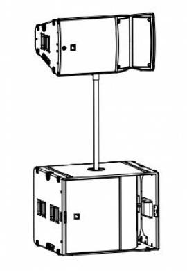 Звуковой комплект 2 - Базовый. L-Acoustics ARCS