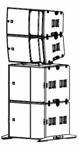 Звуковой комплект 3 - Мощность. L Acoustics ARCS